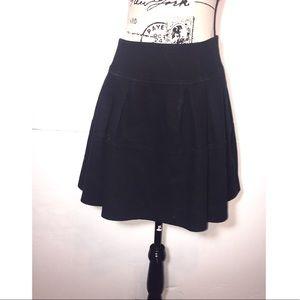 Nanette Lepore Flare Skater Skirt Above Knee Zip